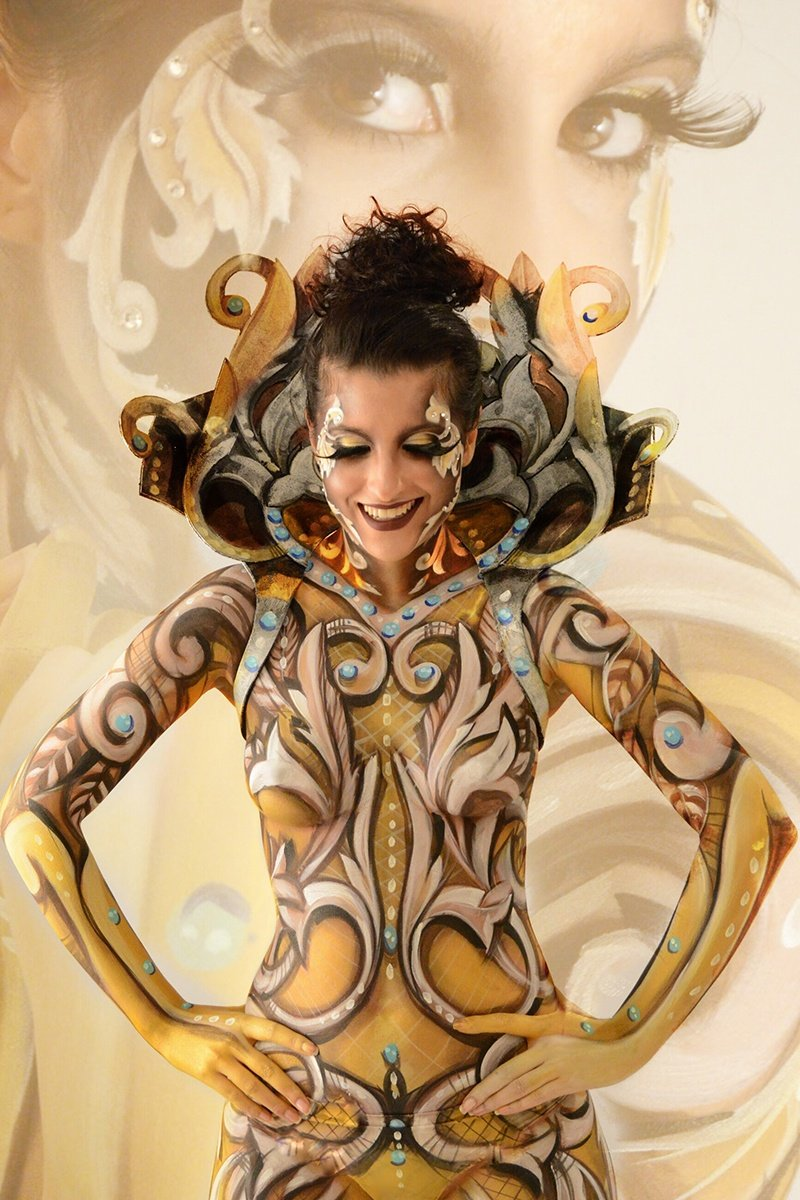 Body painting Maurizio Fruzzetti Life&People Magazine lifeandpeople.it