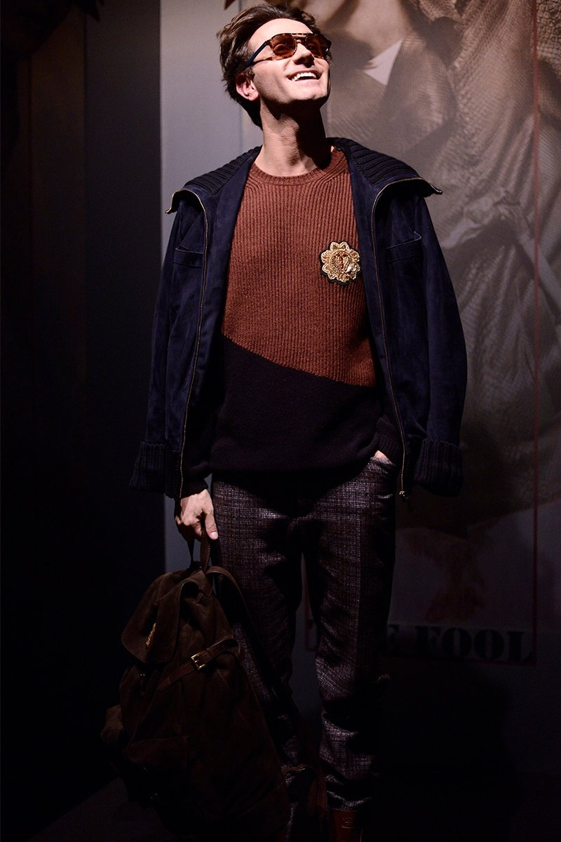 inverno Trussardi f.w17 Life&People Magazine lifeandpeople.it