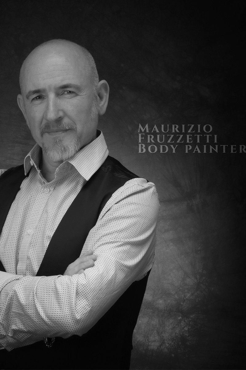 Body painting Maurizio Fruzzetti Life&People Magazine lifeandpeople.it