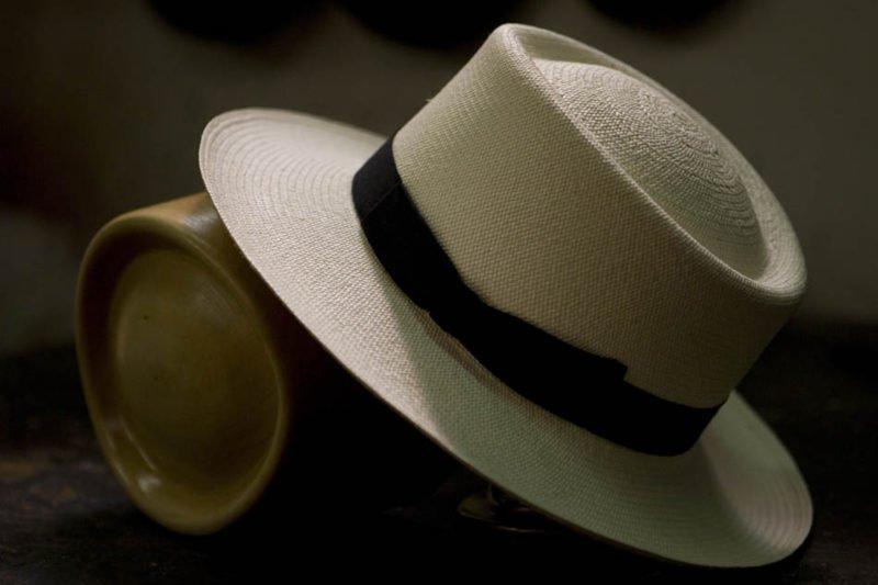 cappello Panama Montecristi Antica Manifattura Cappelli