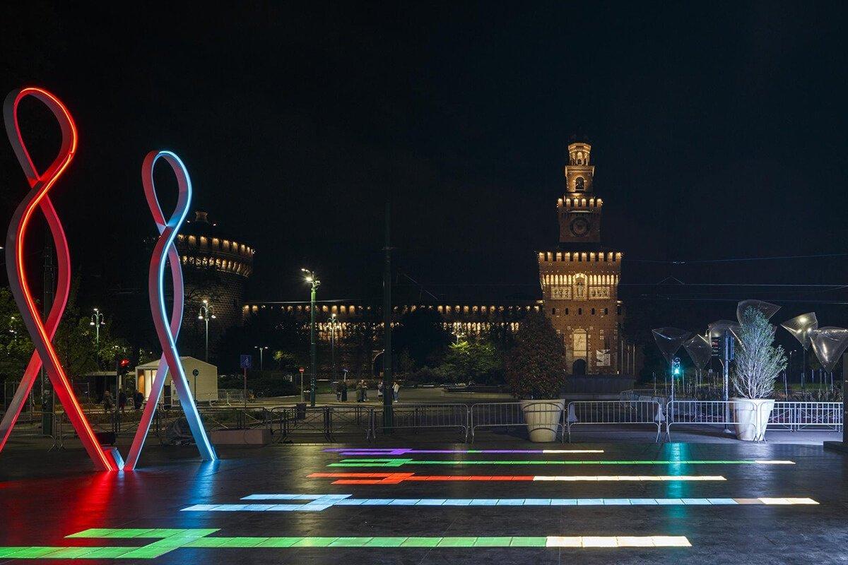 Smart square piazza castello Milano