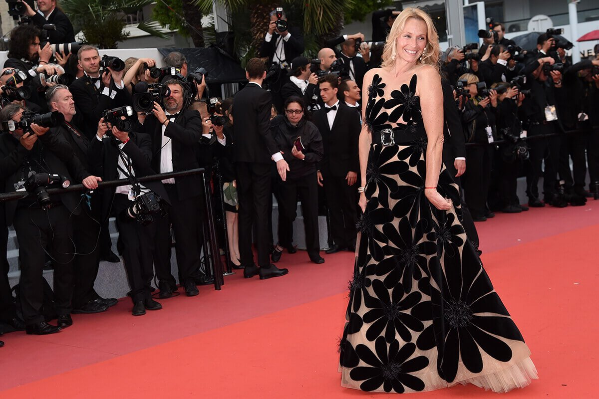 Festival di Cannes Estelle Lefébure