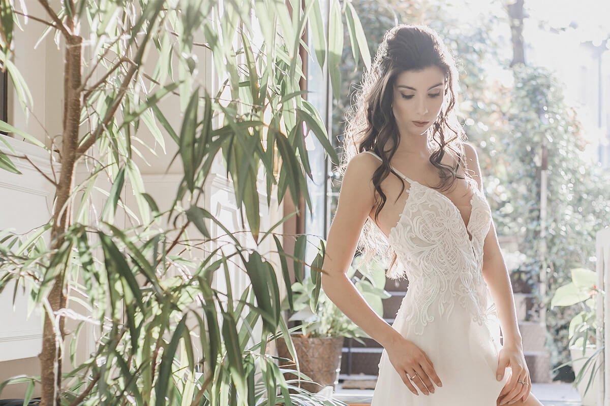 Alla MilanoBridalFashion Week sfilanole tendenze sposa 2019. Life&People Magazine lifeandpeople.it