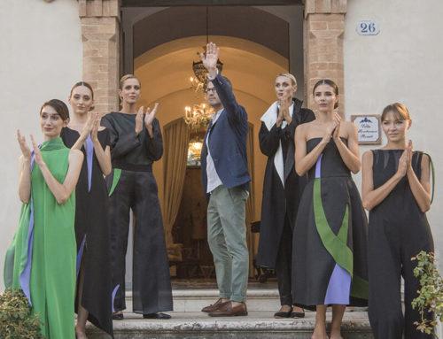 Le mani, la moda e le Marche dello stilista Vittorio Camaiani