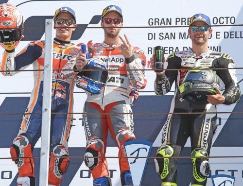 MotoGp Riviera di Rimini e San Marino: Dovizioso trionfa davanti ad un pubblico record