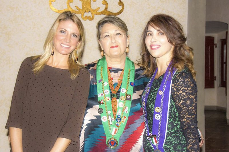 Vernissage D'Autunno de la Chaine Francigena Toscana Life&People Magazine