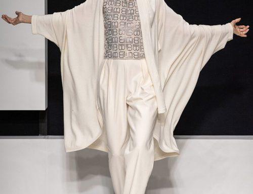 Laura Biagiotti stupisce alla Milano Fashion Week