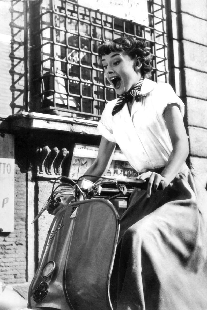 Vespa-Audrey-Hepburn-Life&People Magazine lifeandpeople.it