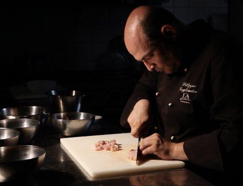 """Filippo Cogliandro e """"la cena al buio"""""""