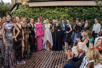 Black and White Dress Milano Eleonora Lastrucci Life&People Magazine lifeandpeople.it