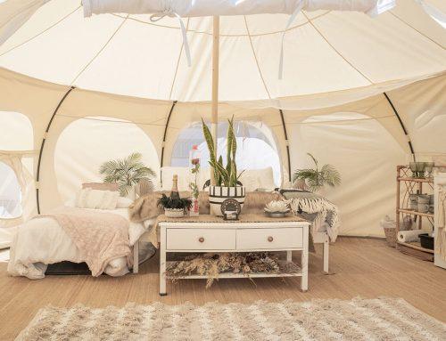 Tende di lusso e case mobili: come è cambiato il campeggio con la moda del glamping