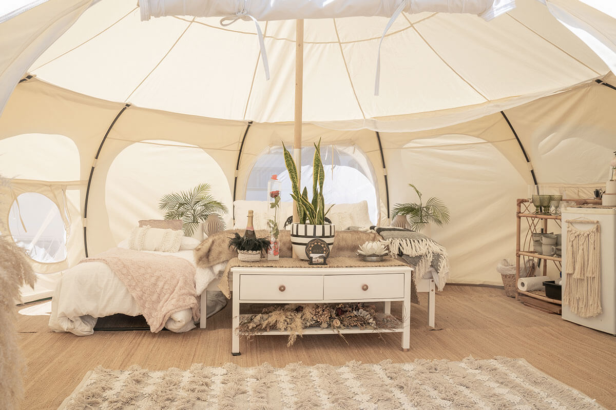 glamping alloggi di lusso Life&People Magazine lifeandpeople.it