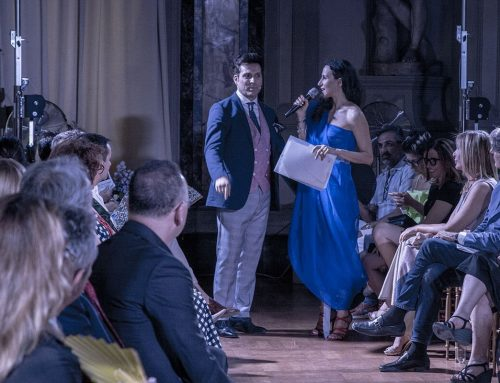 Jamal Taslaq: moda, poesia e solidarietà nella Capitale
