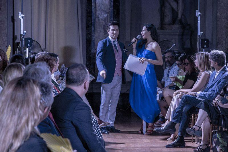 Jamal Taslaq sfilata Palazzo Colonna Roma Life&People Magazine lifeandpeople.it