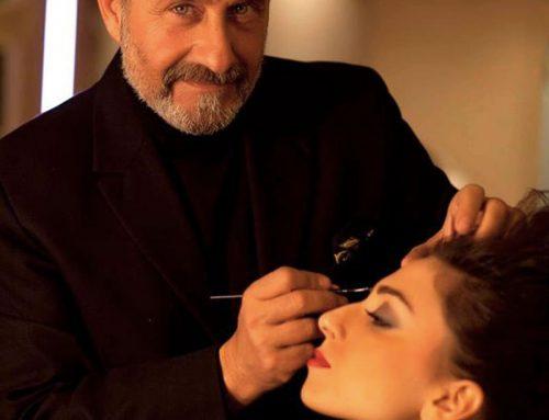 Luciano Carino:un artista sulla tela bianca di un volto