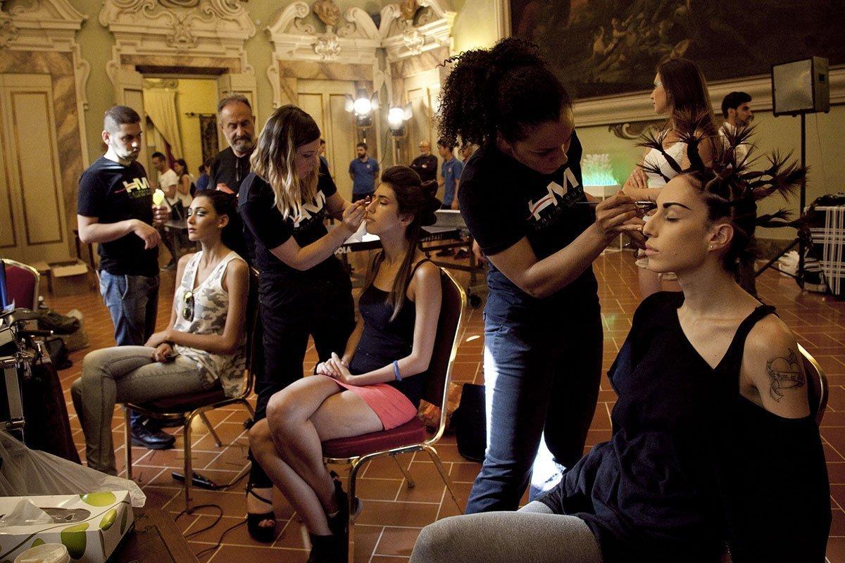 Luciano Carino un mago del make up. Life&People Magazine lifeandpeople.it