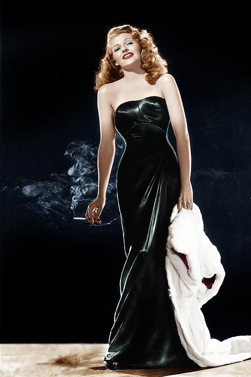 storia del cinema e della moda Rita Hayworth Life&People Magazine lifeandpeople.it