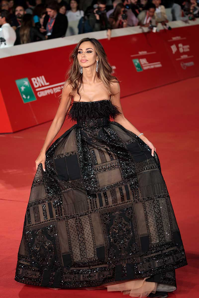 look Madalina Ghenea Festival del cinema Roma Life&People Magazine lifeandpeople.it
