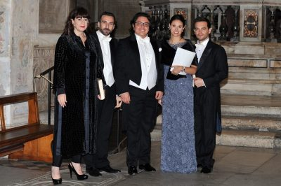 Anna Maria Chiuri, Jacopo Sipari, Hector Mendoza Lopez, Federica Vitali, Mirco Palazzi