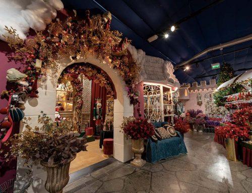 L'incanto di Natale nel villaggio Flover
