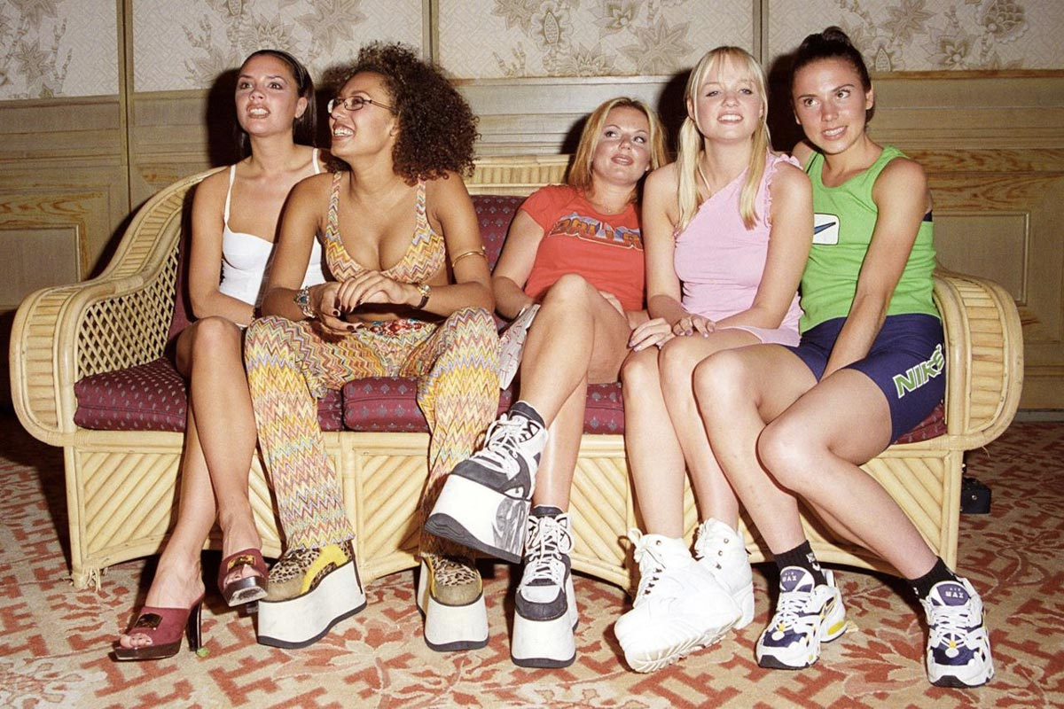 Spice Girls zeppe 1995 Life&People Magazine lifeandpeople.it