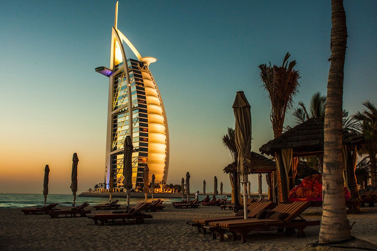 hotel 7 stelle Burj al arab Dubai Life&People Magazine LifeandPeople.it