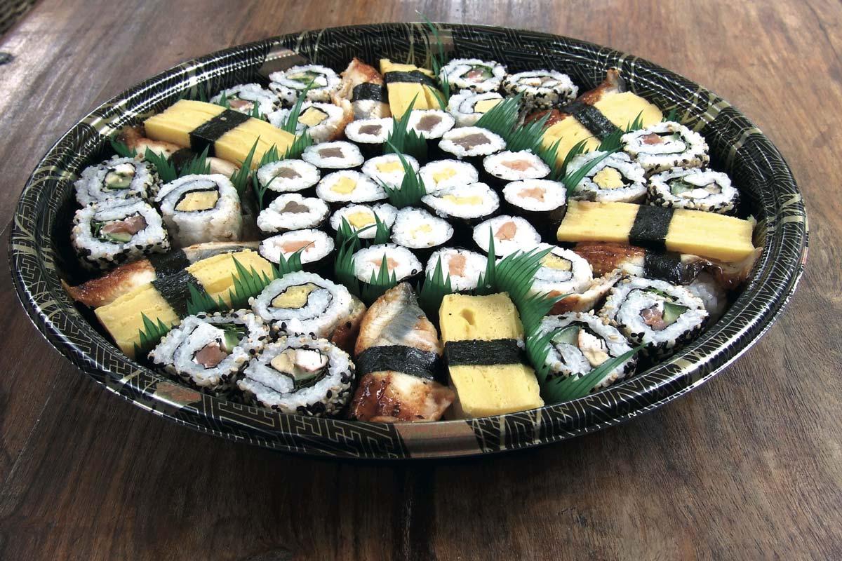 sushi piatto Life&People Magazine LifeandPeople.it