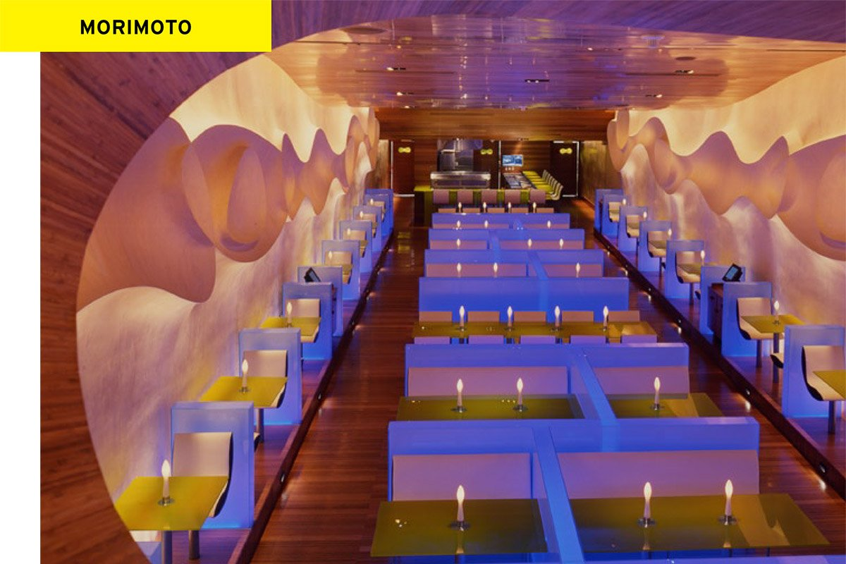 Il ristorante Morimoto disegnato da Karim Rashid Life&People Magazine lifeandpeople.it