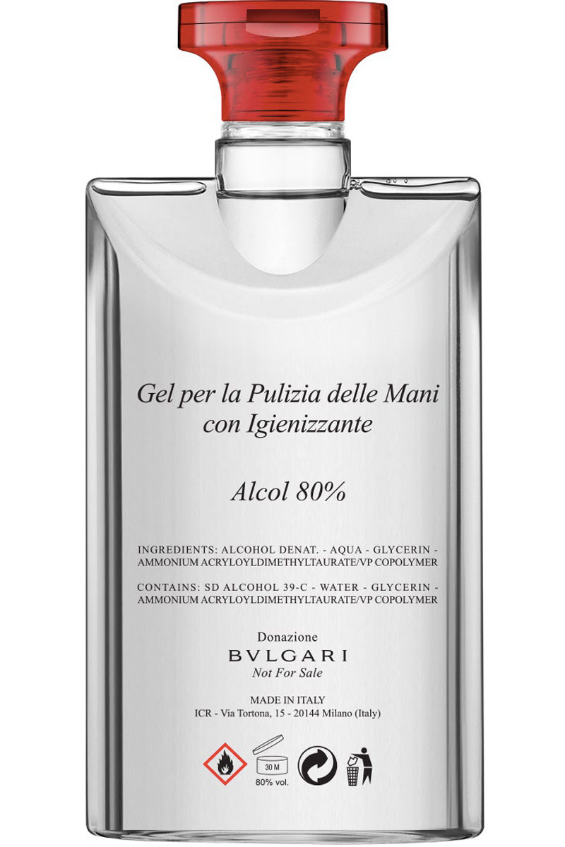 Bulgari produzione disinfettanti Life&People Magazine LifeandPeople.it
