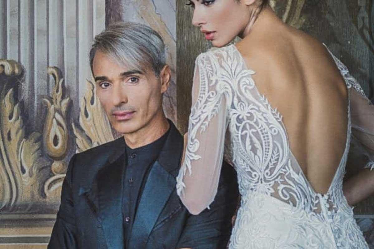 stilisti abiti da sposa Gianni Molaro Life&People Magazine LifeandPeople.it