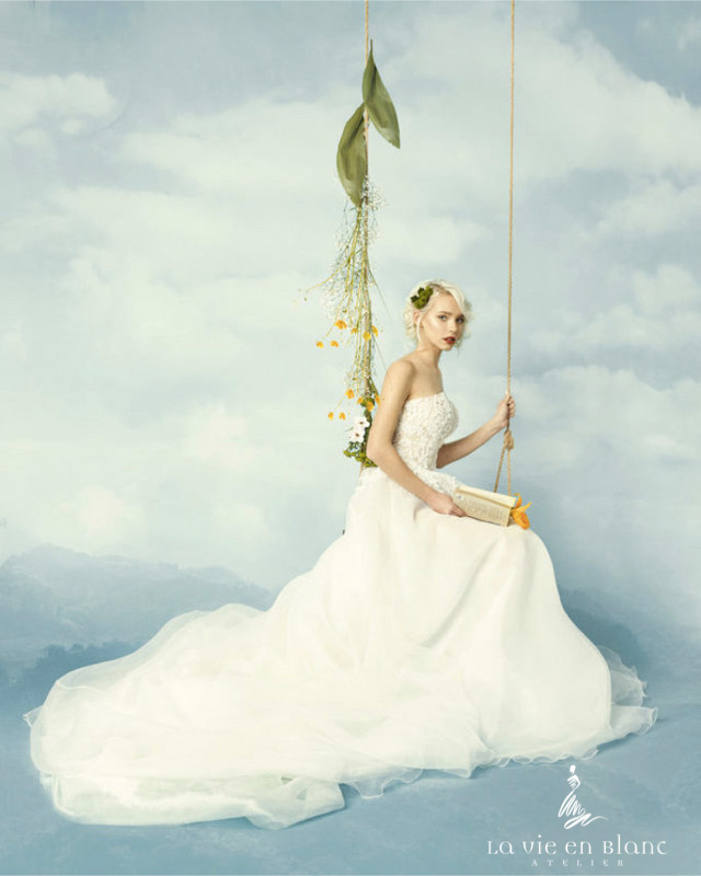 La Vie en Blanc Atelier Life&People Magazine