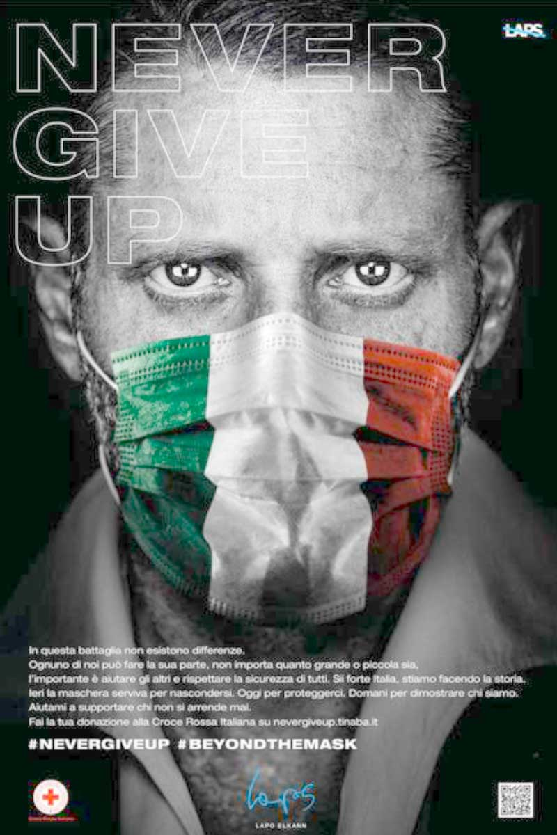 croce rossa Lapo Elkann Life&People Magazine LifeandPeople.it