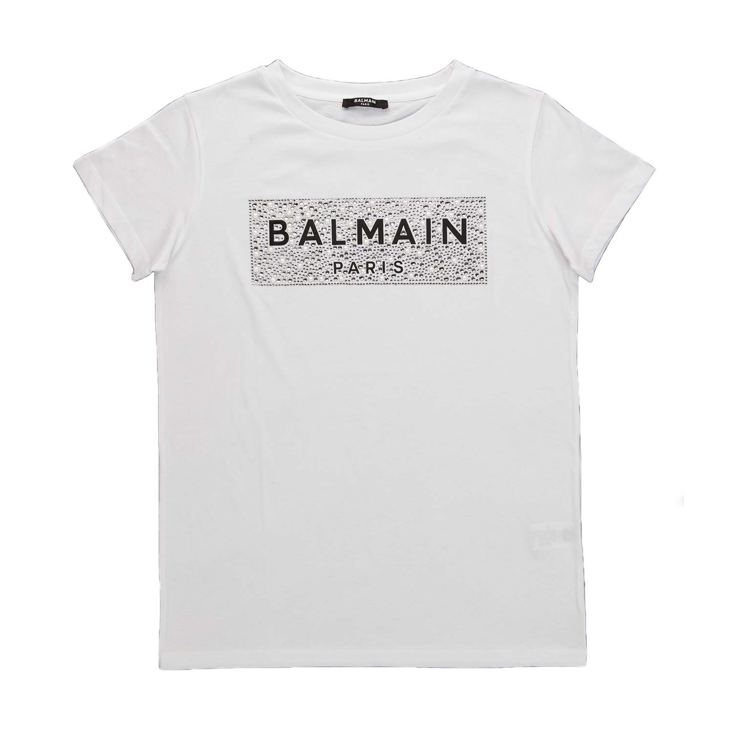 tshirt bianca Balmain Life&People Magazine LifeandPeople.it