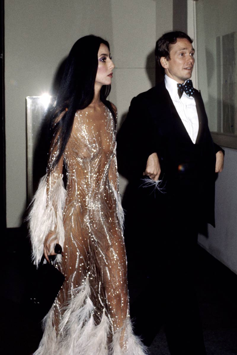 Cher 1974 met gala New York Life&People Magazine LifeandPeople.it