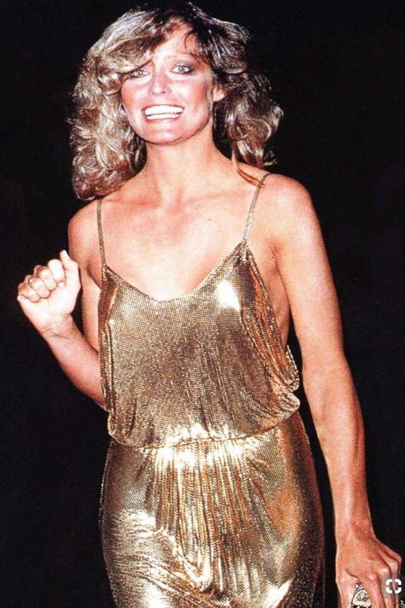 met gala 1979 Farrah Fawcett Life&People Magazine LifeandPeople.it