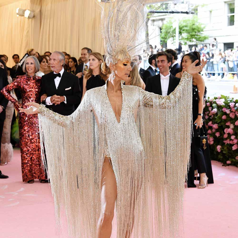 Celine Dion look met gala 2019 Life&People Magazine LifeandPeople.it