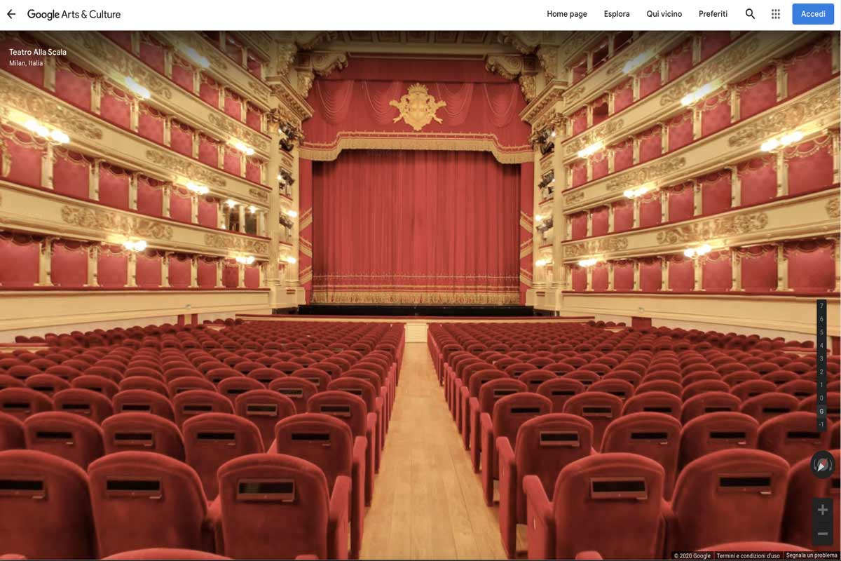 Google Arts and Culture teatro alla scala Life&People Magazine |lifeandpeople.it