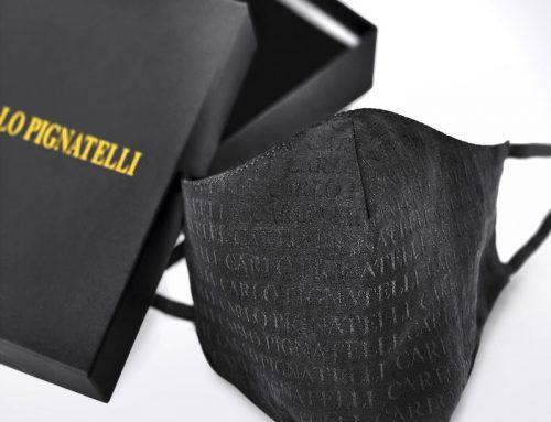Un accessorio di stile: la mascherina Carlo Pignatelli