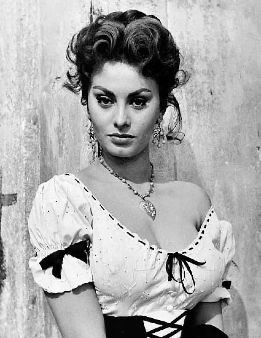 Sophia Loren attrice italiana famosa Life&People Magazine LifeandPeople.it