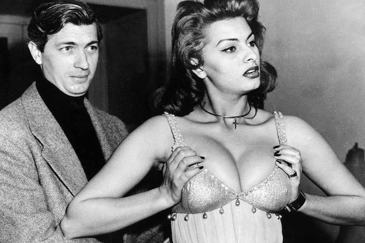 gli abiti del cinema Sophia Loren film LifeandPeople.it