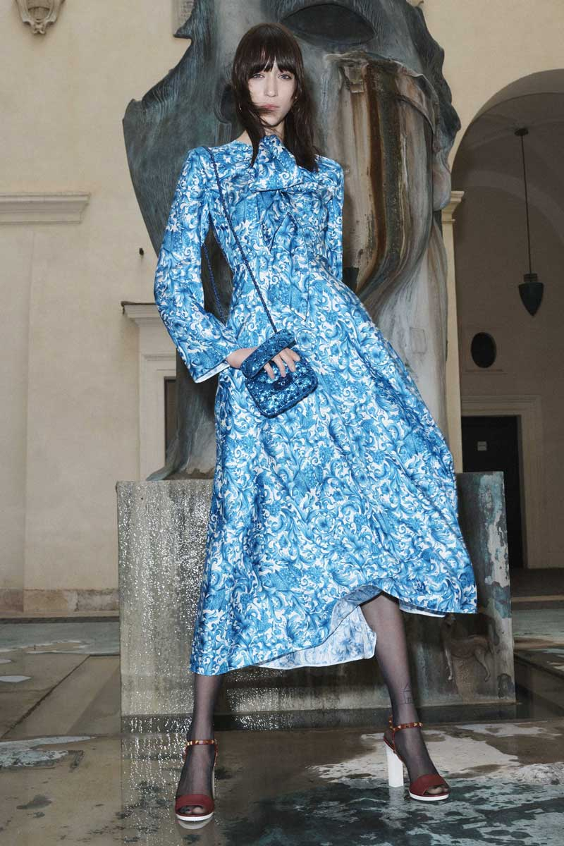 Valentino Bluegrace pre-fall 2020 Life&People Magazine LifeandPeople.it
