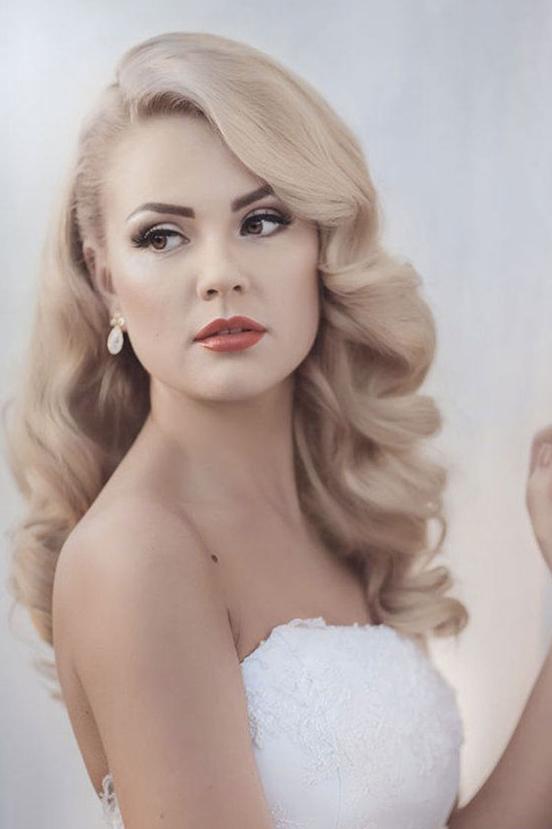 tutorial capelli acconciatura sposa vintage Life&People Magazine LifeandPeople.it