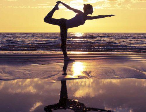 Lo yoga digital all'aperto che migliore l'umore