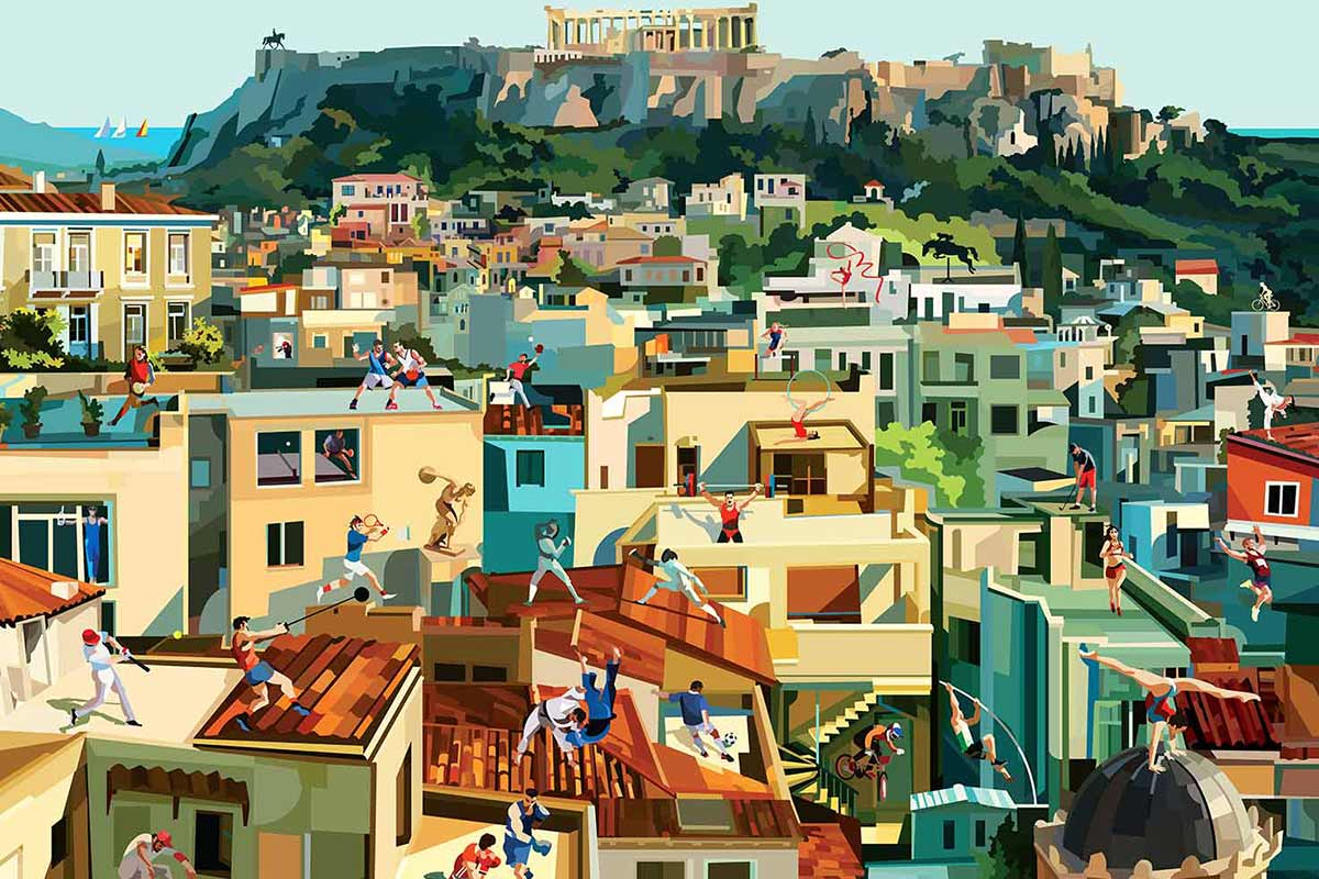 Athens plays sports di Pierpaolo Rovero Life&People Magazine lifeandpeople.it