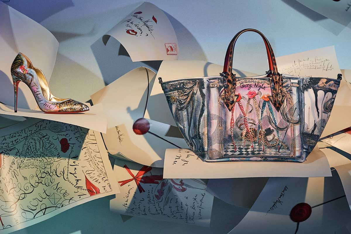 la nuova borsa Cabaraparis di Christian Louboutin Life&People Magazine LifeandPeople.it