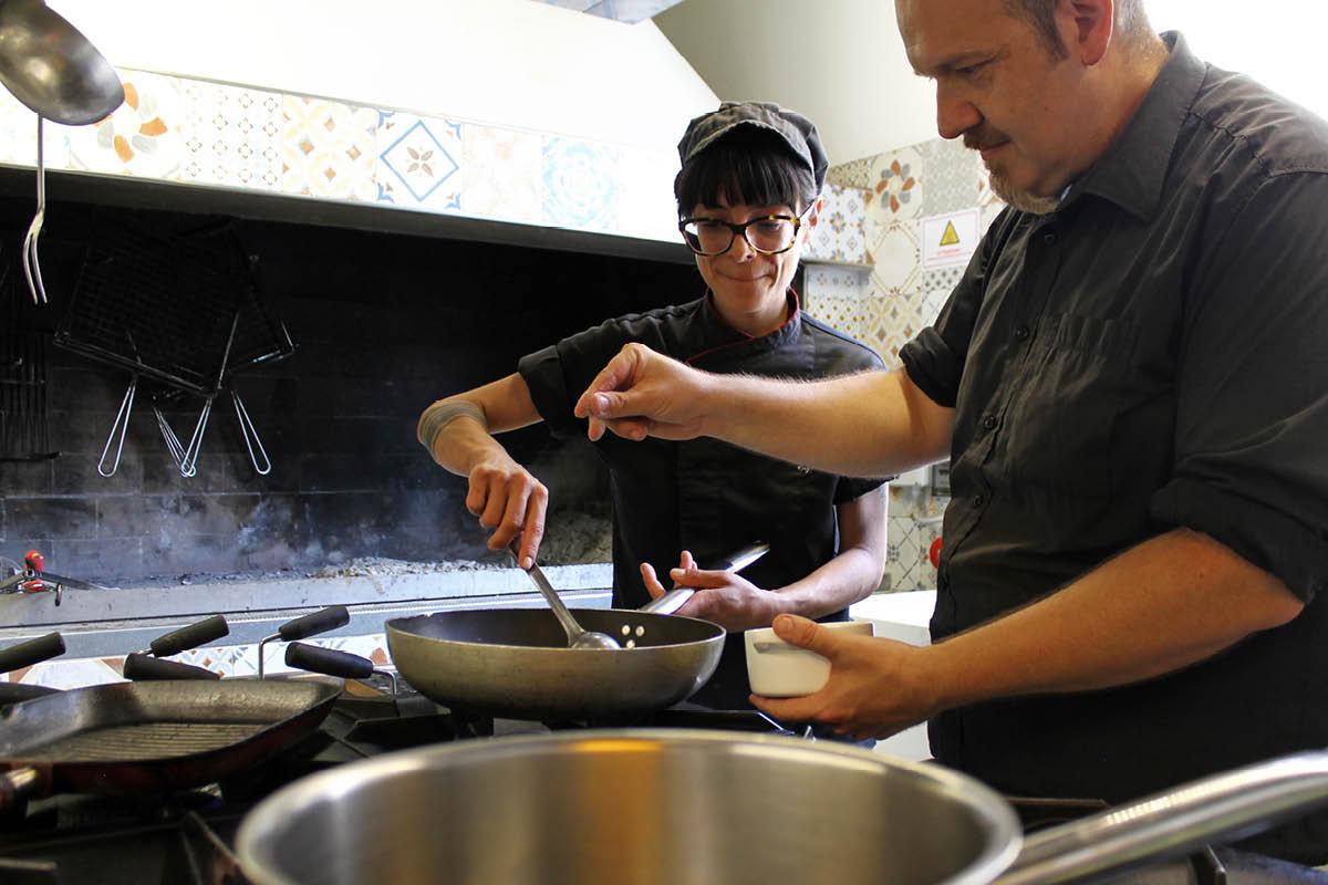 Andrea Montanari e Giulia Esposito di Falsariga