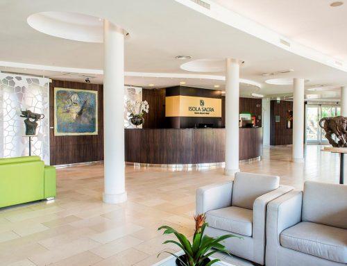 Hotel Isola Sacra: dal giardino di Venere nasce un soggiorno magico