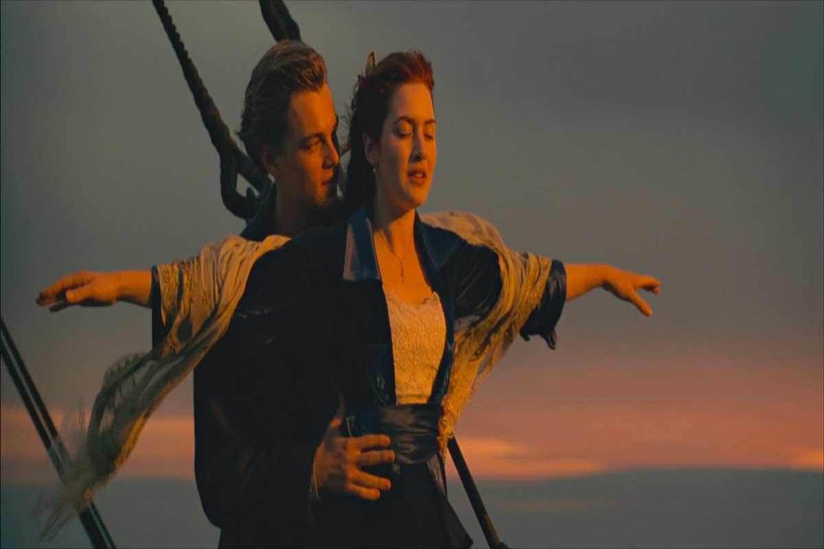 cinema e moda scena film Titanic Life&People Magazine LifeandPeople.it