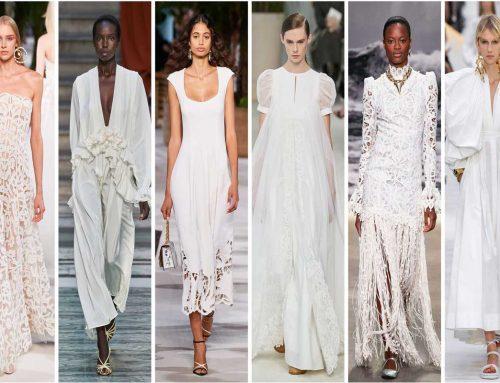 Abiti bianchi estivi, certezza fashion dell'estate