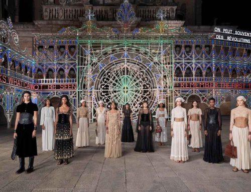 La collezione Dior Cruise 2021 fra pizziche, fazzoletti e taranta